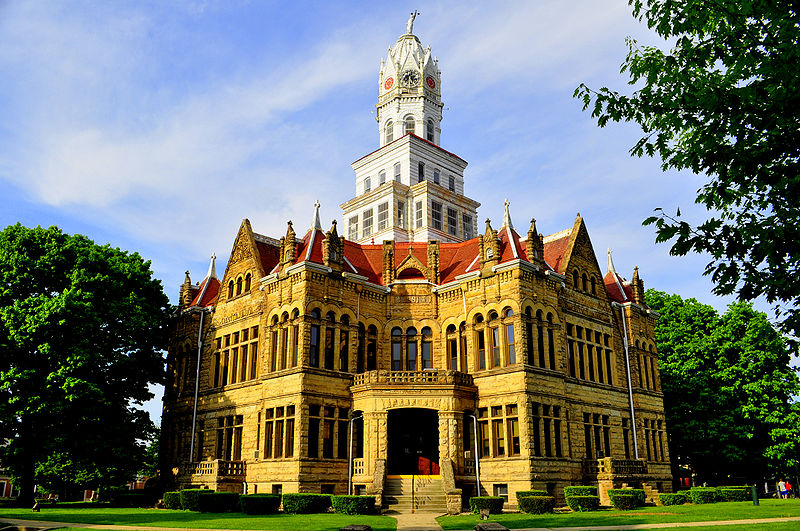 Historical Edgar County Courthouse